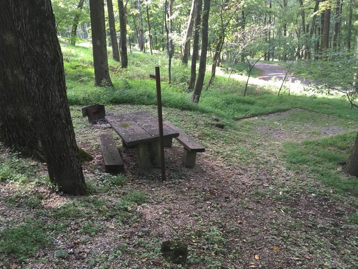 B Loop Site 45 - Tent Nonelectric