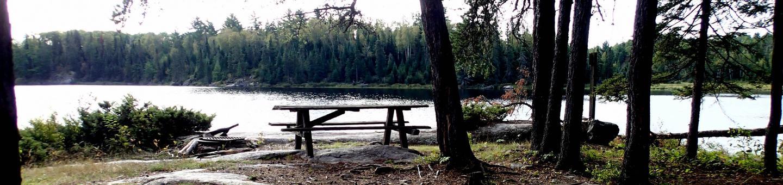 B1 - Agnes Lake backcountry campsite