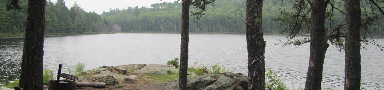 B9 - Locator Lake backcountry campsite