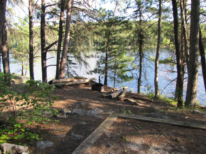 B17 - War Club  Lake backcountry campsite