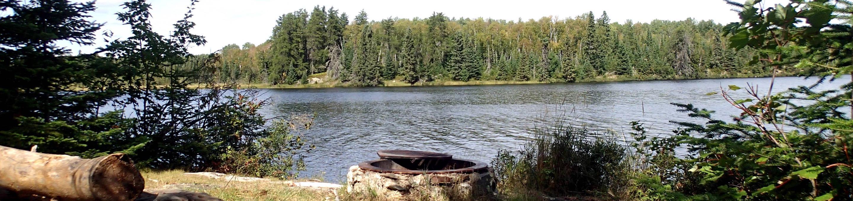 B7 - Jorgens LakeB7 - Jorgens Lake backcountry campsite