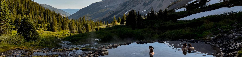 Conundrum Hot Springs - Maroon Bells-Snowmass WildernessConundrum Hot Springs Maroon Bells-Snowmass Wilderness
