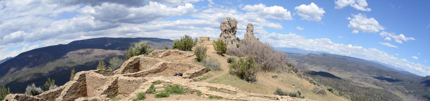 Get a View Into an Ancient World at Chimney Rock National MonumentChimney Rock offers monthly programs, annual events and daily guided and audio-guided tours that will bring this beautiful site to life so you can visualize what it might have been like to live here 1,000 years ago.