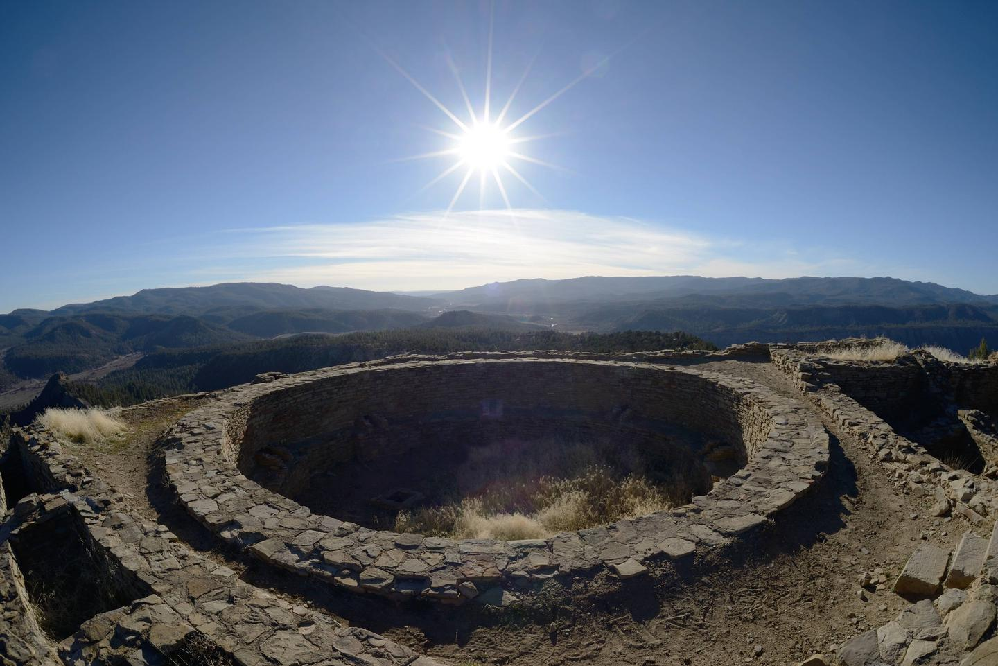 CHIMNEY ROCK NATIONAL MONUMENTGet a view into an ancient world at Chimney Rock National Monument!