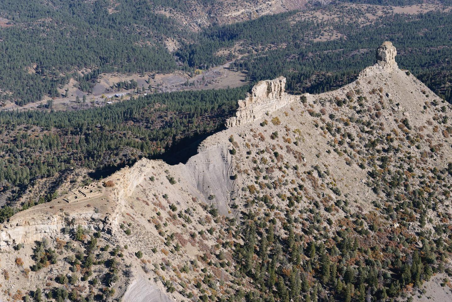 Chimney Rock National Monument is an intimate, off-the-beaten-path archaeological site located at the southern edge of the San Juan Mountains  in Southwestern Colorado. Enjoy beautiful 360 degree view of the San Juan Mountain from the Great House on top of the Chimney Rock Mesa!