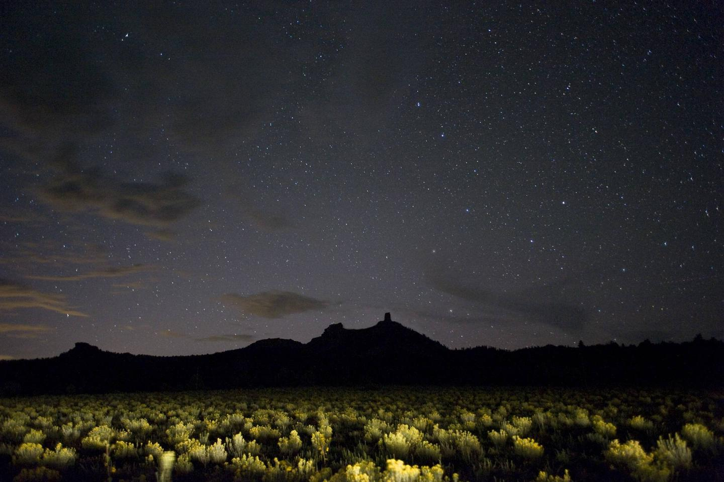 Chimney Rock National Monument is the highest in elevation of all the Chacoan sites, at about 7,000 feet above sea level.Learn about how the ancient Puebloans used the night sky and get a closer look at the stars and galaxies through telescopes!