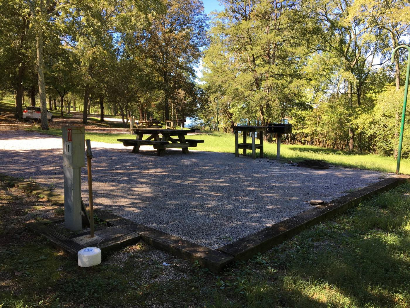 WILLOW GROVE CAMPGROUND SITE # 11