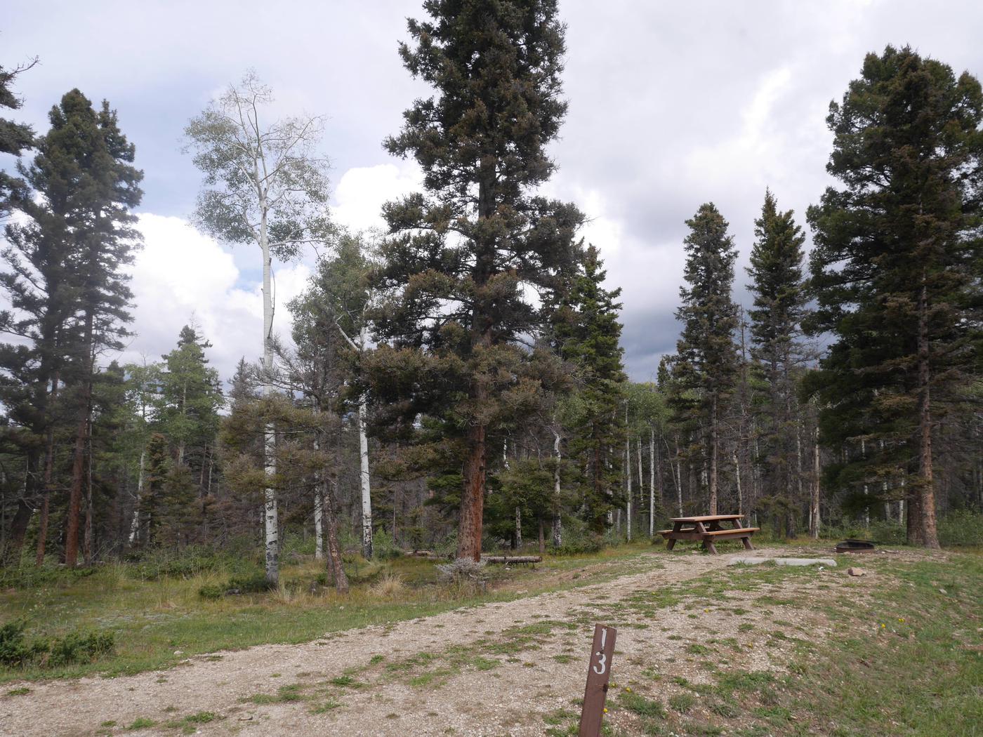 Campsite #13