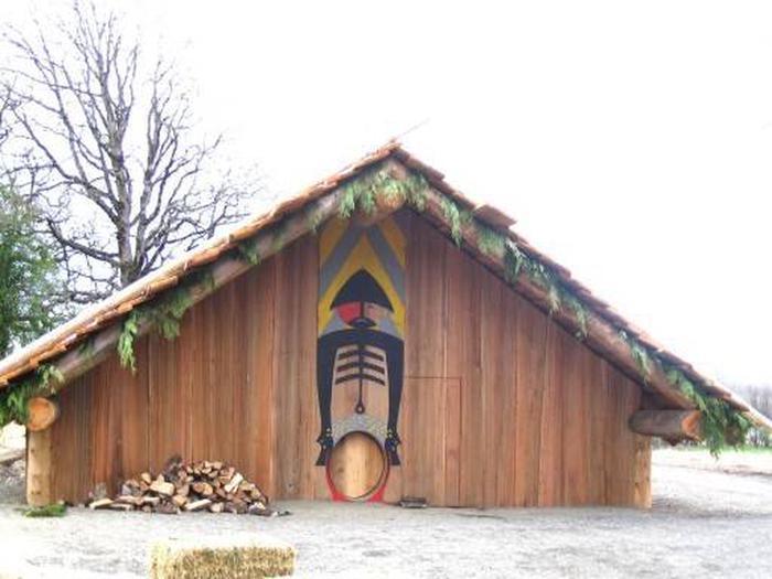 Ridgefield National Wildlife RefugePlankhouse at Ridgefield National Wildlife Refuge