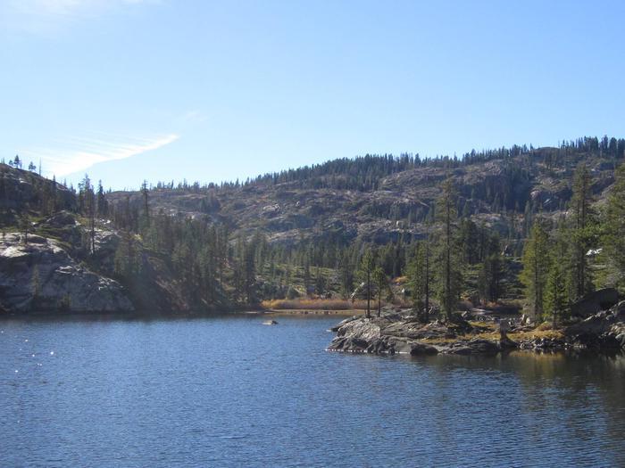 Packer LakePacker Lake a 1/4 mile drive from Packsaddle
