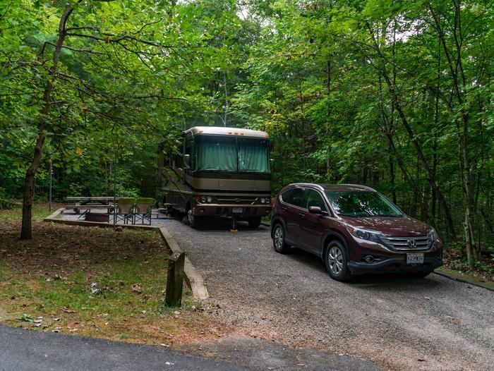 Lake Powhatan #13 CampsiteLake Powhatan Big John Loop #13