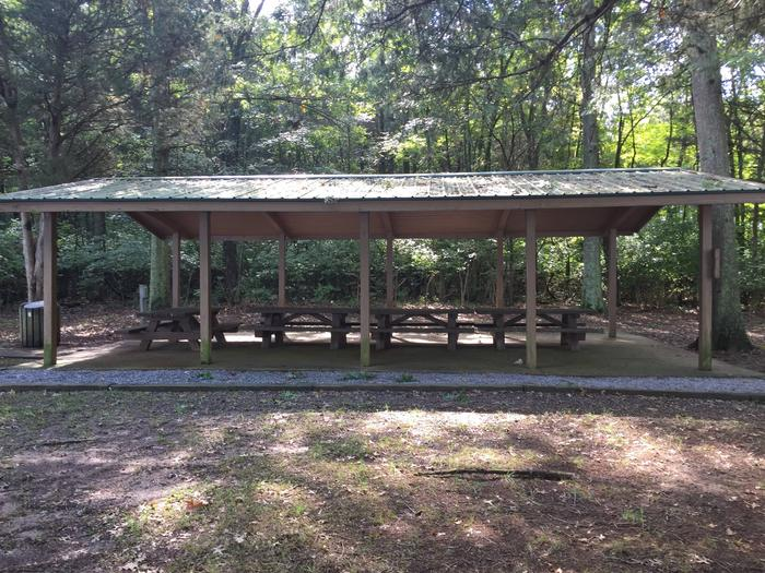 Lone Branch Recreation Area Shelter 2