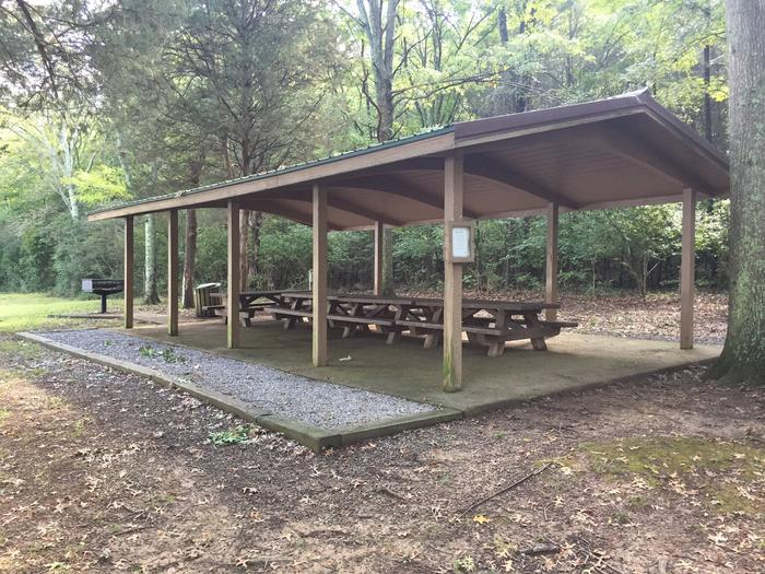 LONE BRANCH RECREATION AREA- SHELTER 2