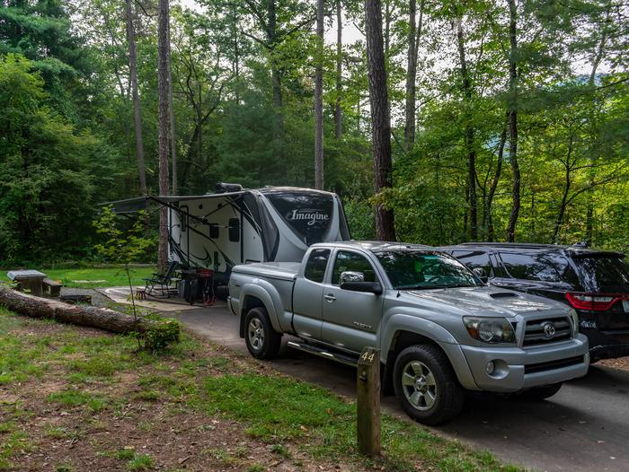 Lake Powhatan #44 CampgroundLake Powhatan Lakeside #44