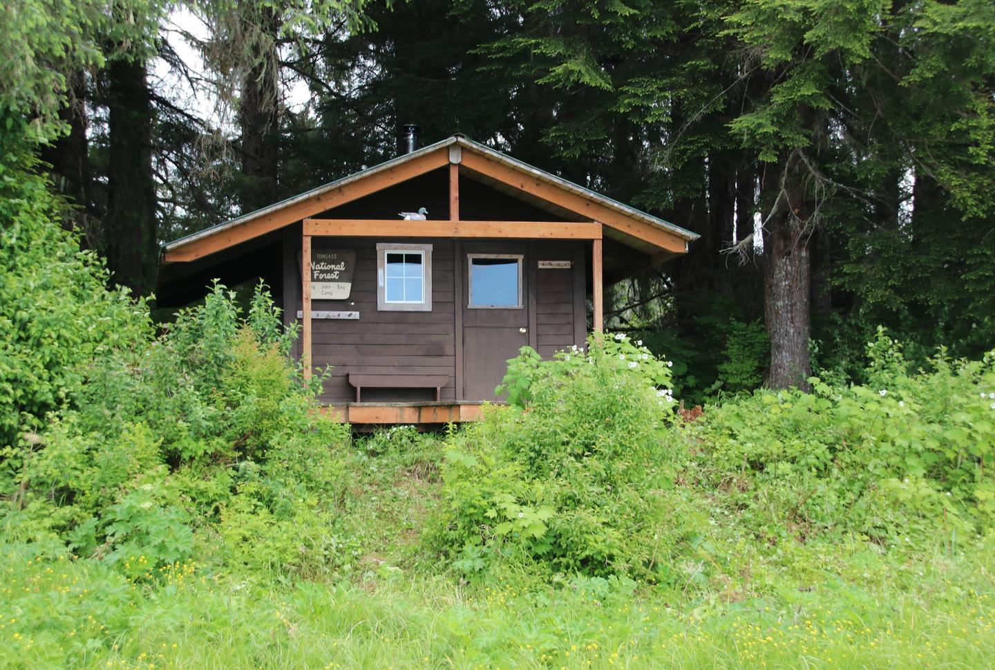 BIG JOHN BAY CABINExterior of cabin