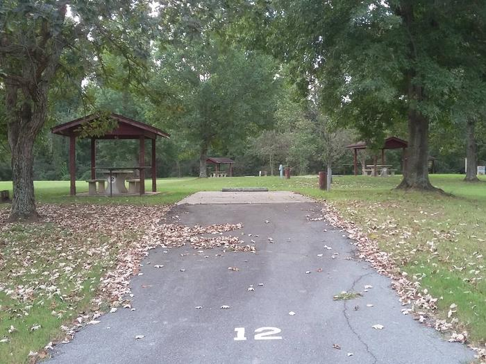 100 Yards to Shower/Restroom. 300 Yards to Arkansas River Access.Site 12