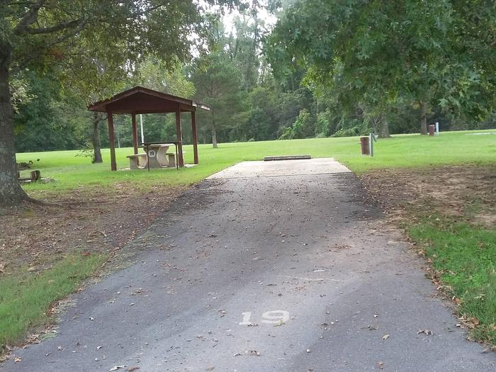 100 Yards to Shower/Restroom. 300 Yards to Arkansas River Access.Site 19