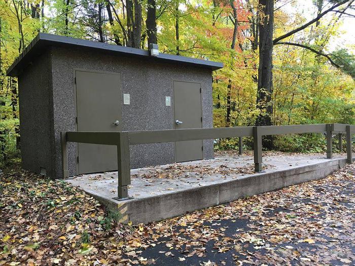 Group Loop Vault Toilets