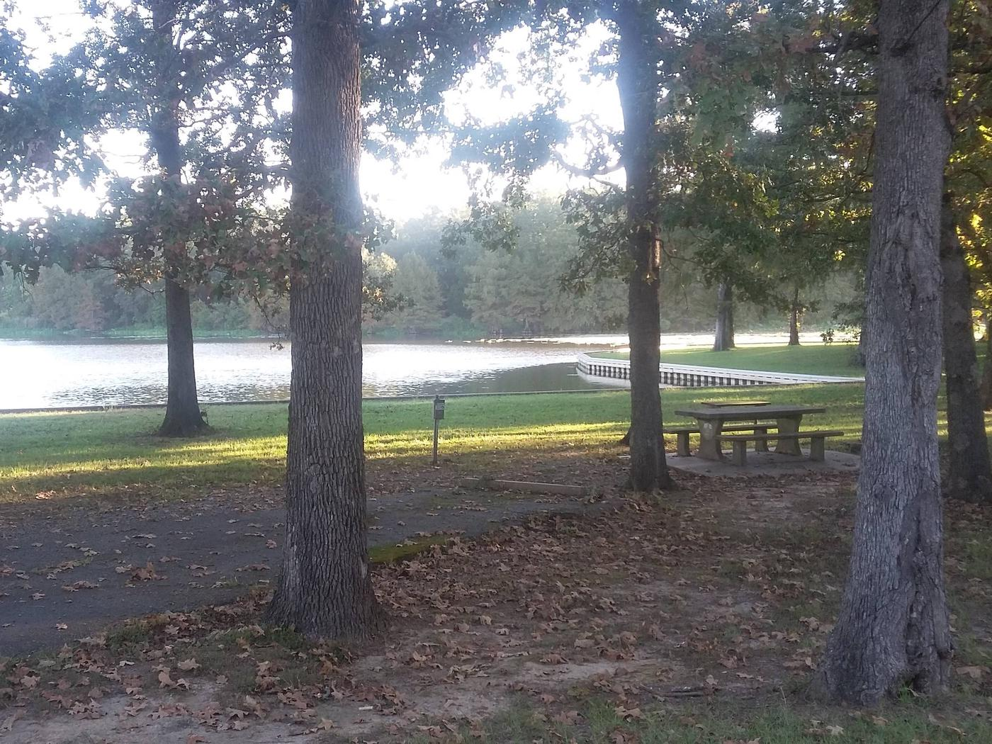 100 Yards to Shower/Restroom. 100 yards to Merrisach Lake AccessA-8
