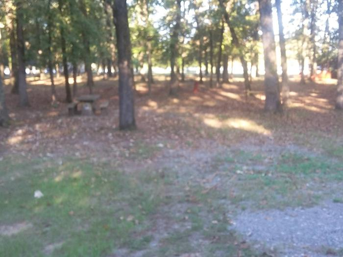 75 yards to Shower/Restroom. 500 Yards to Lake Merrisach Access.B-13