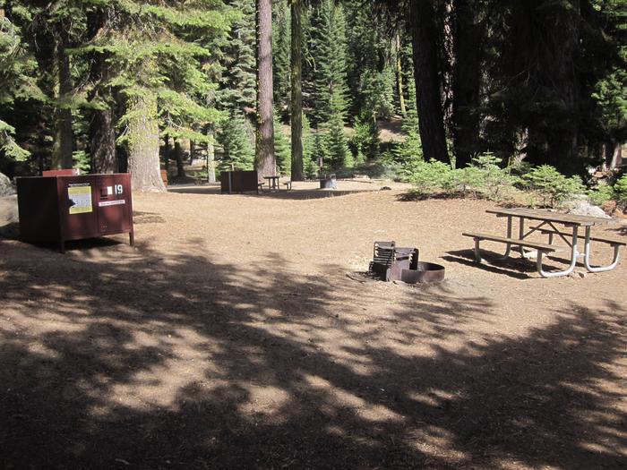 Site 19, Near Restrooms
