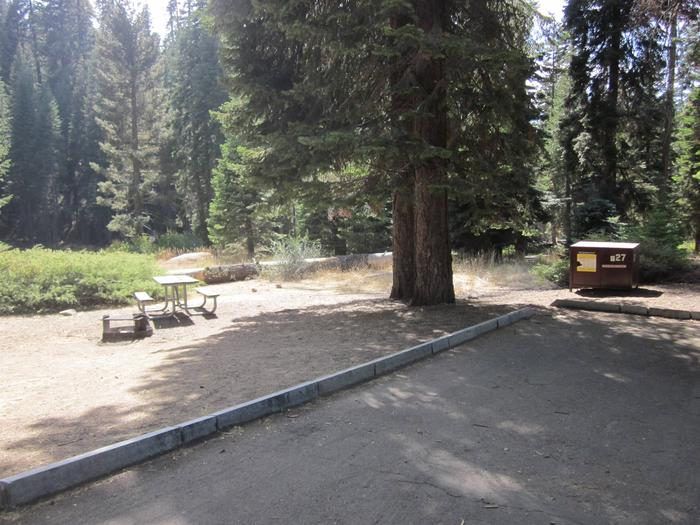 Site 27, Partial Shade, Near Meadow and Restrooms
