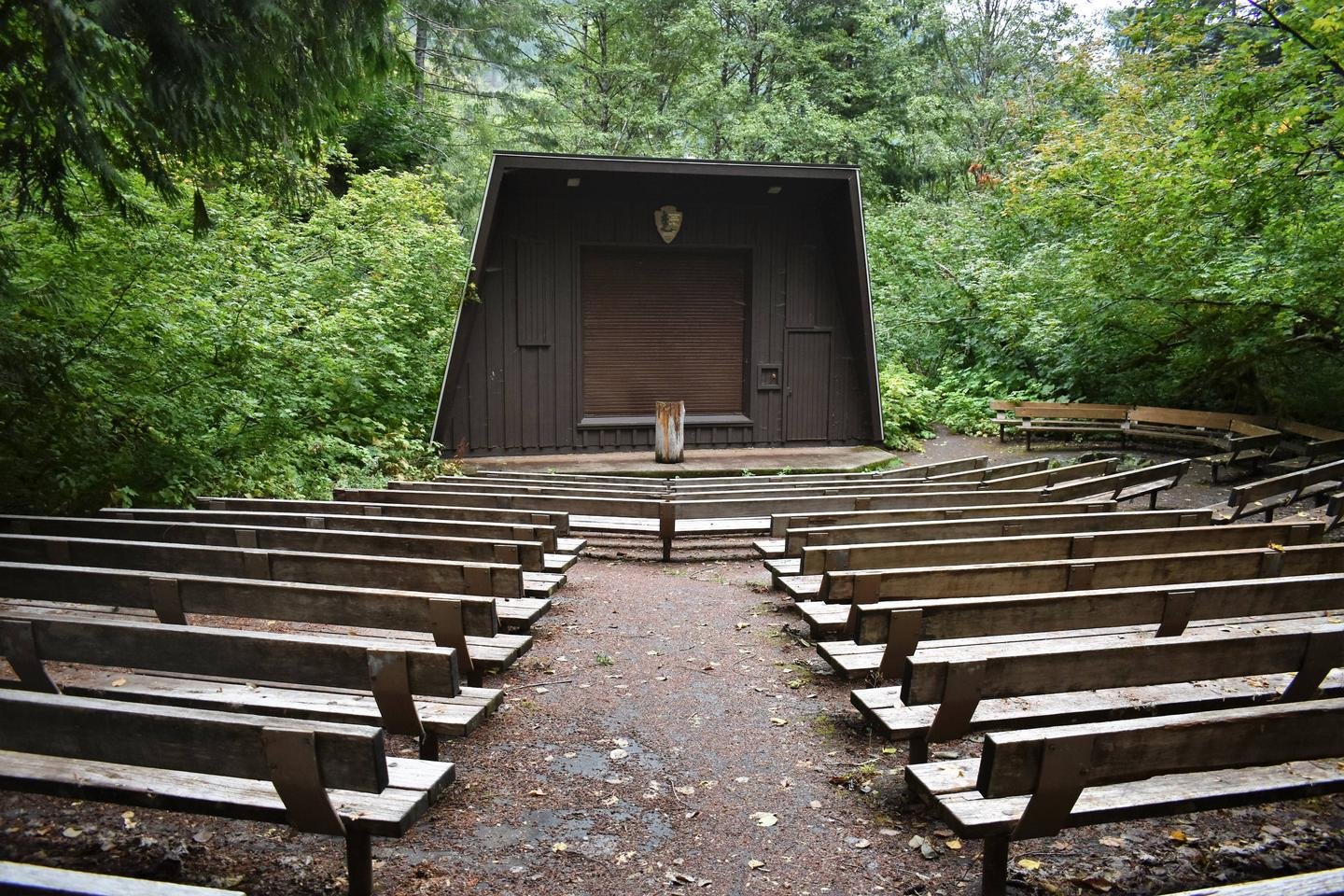 Amphitheater at Colonial Creek CampgroundAmphitheater at Colonial Creek Campground for Ranger Programs