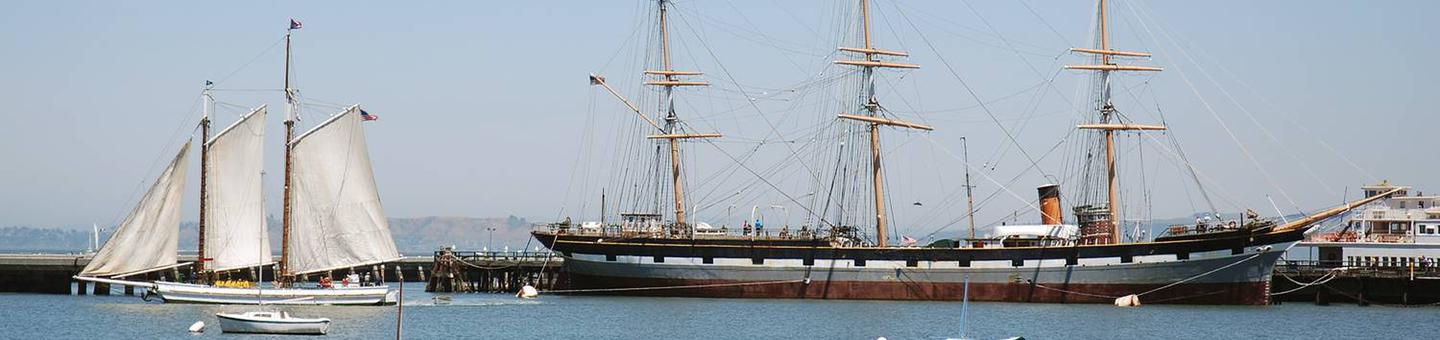 Photo of the Alma, San Francisco Maritime National Historic Park