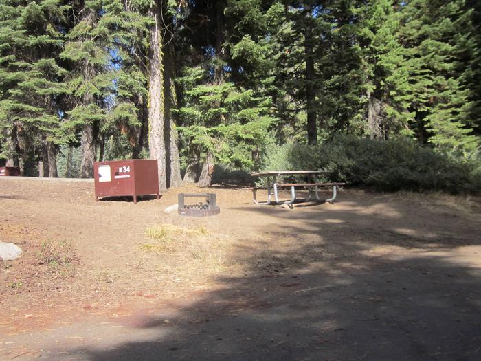 Site 34, Partial Shade, Near Restrooms