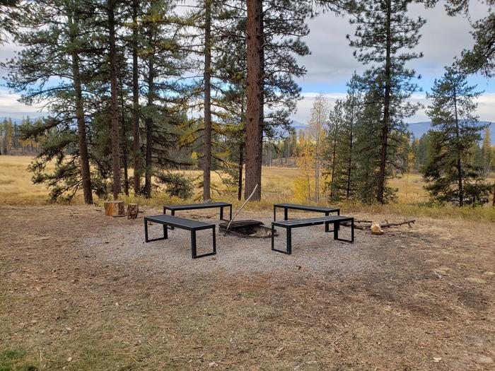 Old Condon Ranger Station Fire PitFire Pit