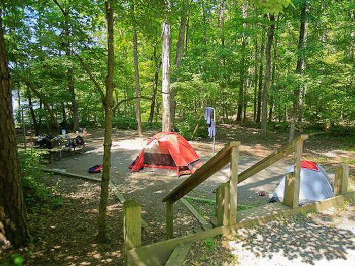 Badin Lake Campground-Site 001
