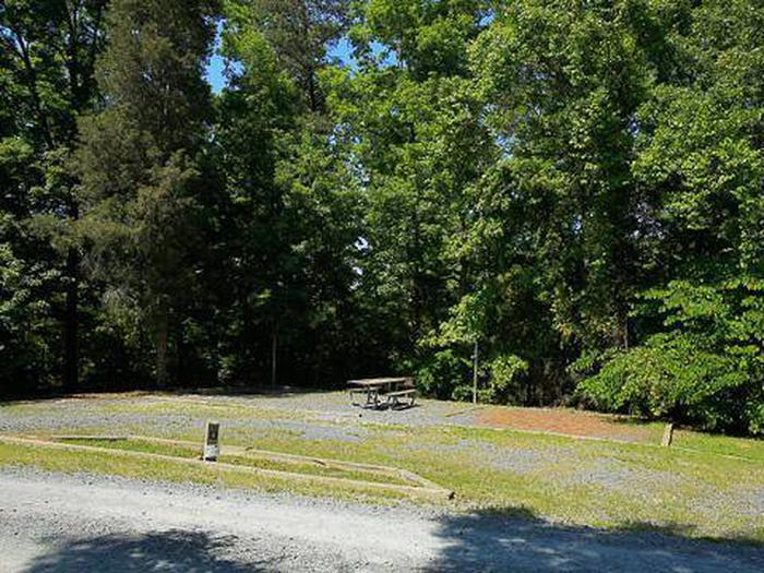 Badin Lake Campground-Site 004