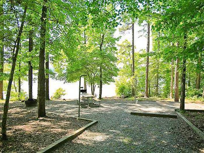 Badin Lake Campground-Site 009
