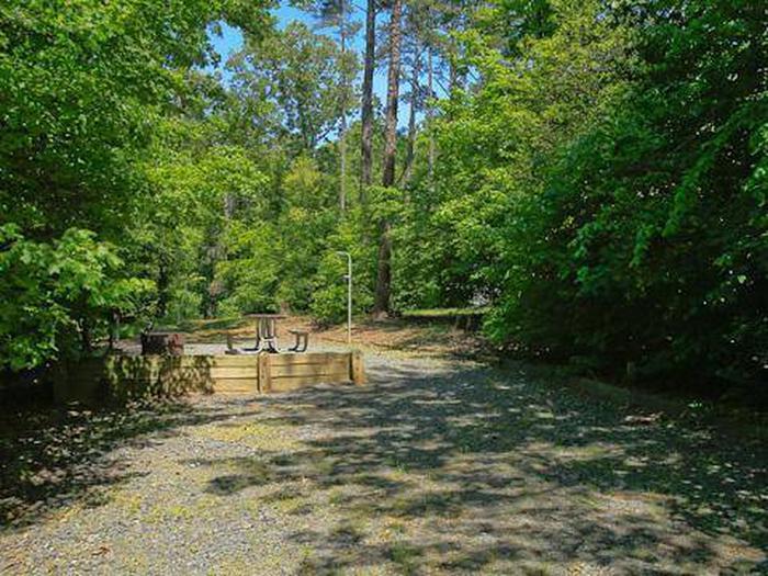 Badin Lake Campground-Site 010