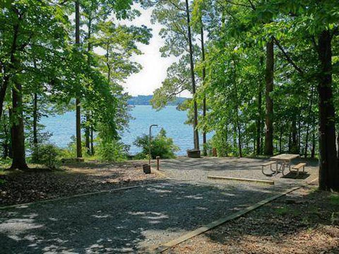 Badin Lake Campground-Site 011