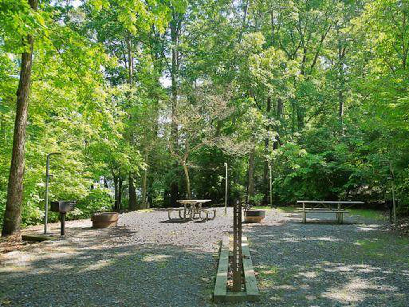 Badin Lake Campground-Site 020