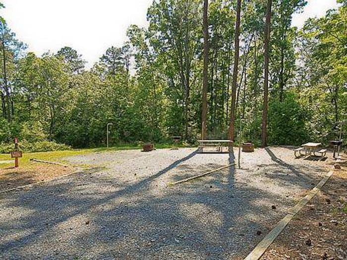 Badin Lake Campground-Site 028