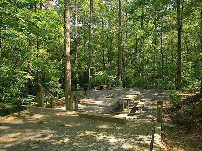 Badin Lake Campground-Site 035