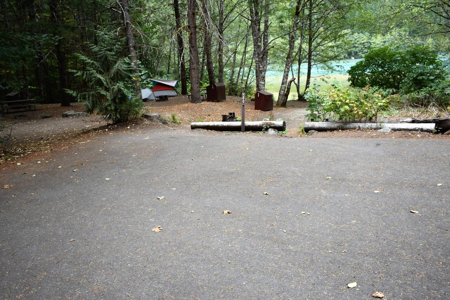Parking areaView of parking area
