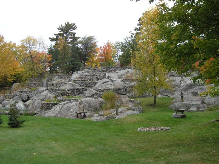 Ellsworth Rock GardensView of Ellsworth Rock Gardens