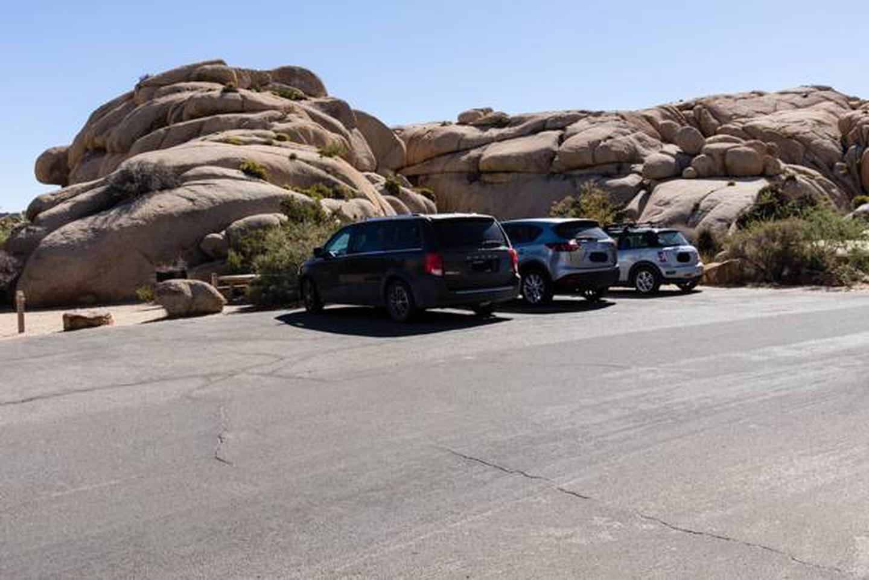 Jumbo Rocks site 6aParking space
