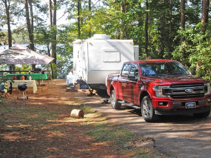 Victoria Campground Site 14