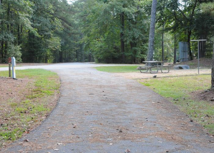 Victoria Campground Site 16