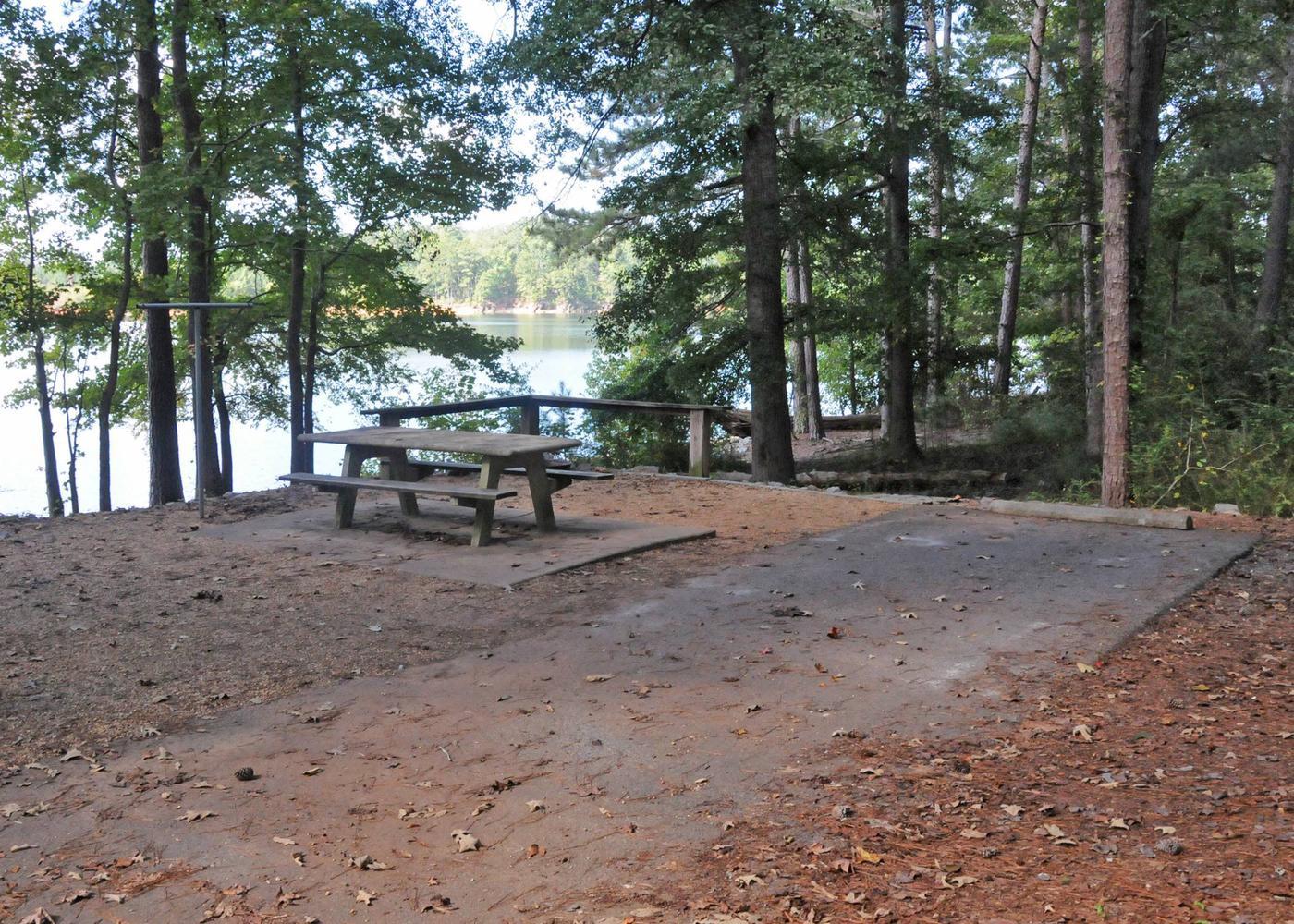 Victoria Campground Site 17