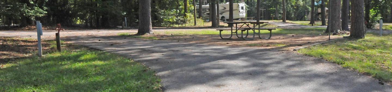 Victoria Campground Site 18