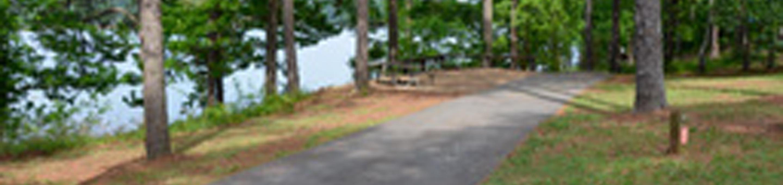 Victoria Campground Site 19.Victoria Campground Site 19