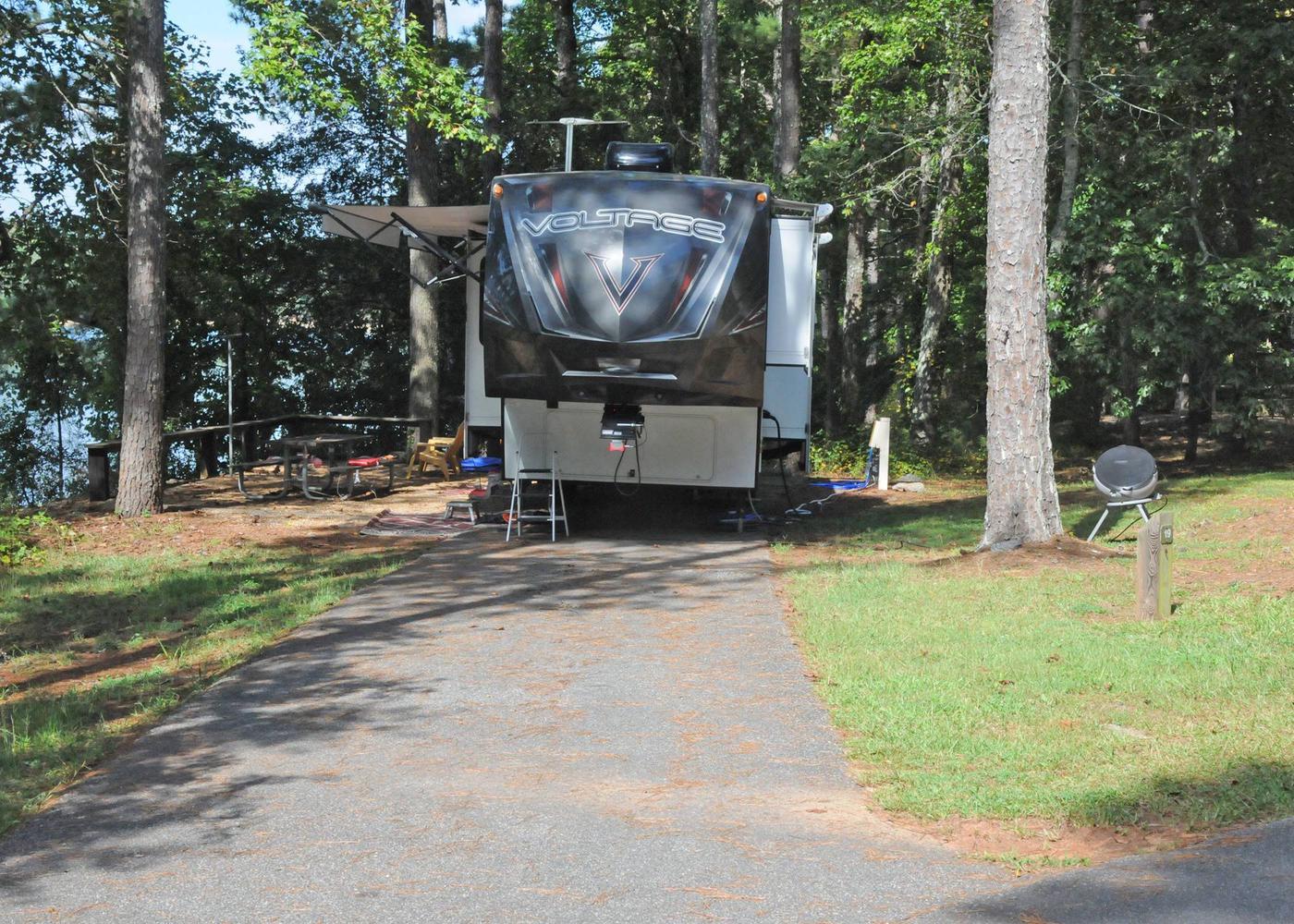 Victoria Campground Site 19
