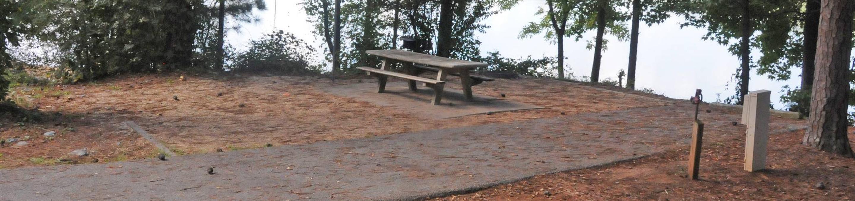 Victoria Campground Site 21
