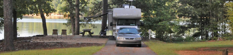 Victoria Campground Site 22
