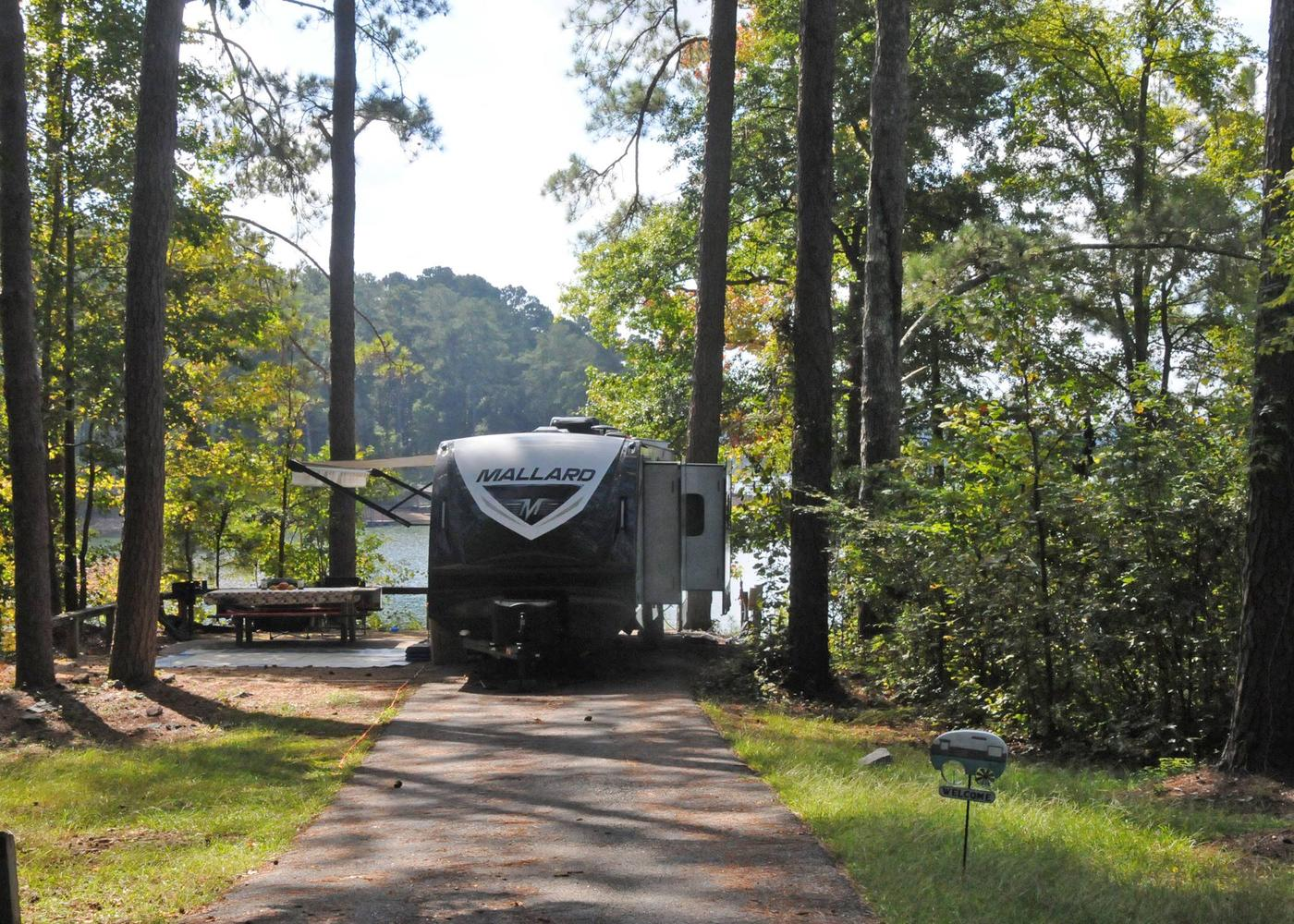 Victoria Campground Site 25